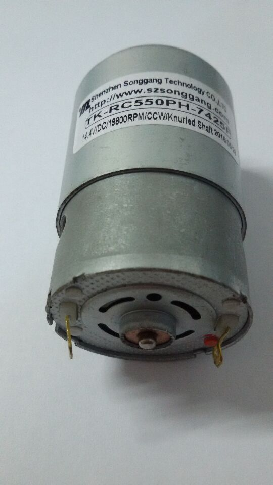 RS-550VC micro DC motor 20000rpm for electric drill with 14.4V