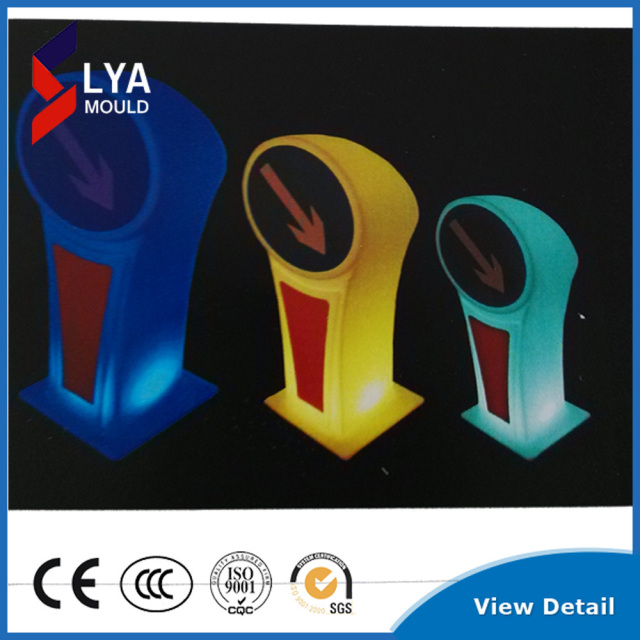 road safety led traffic sign solar LED flash warning sign
