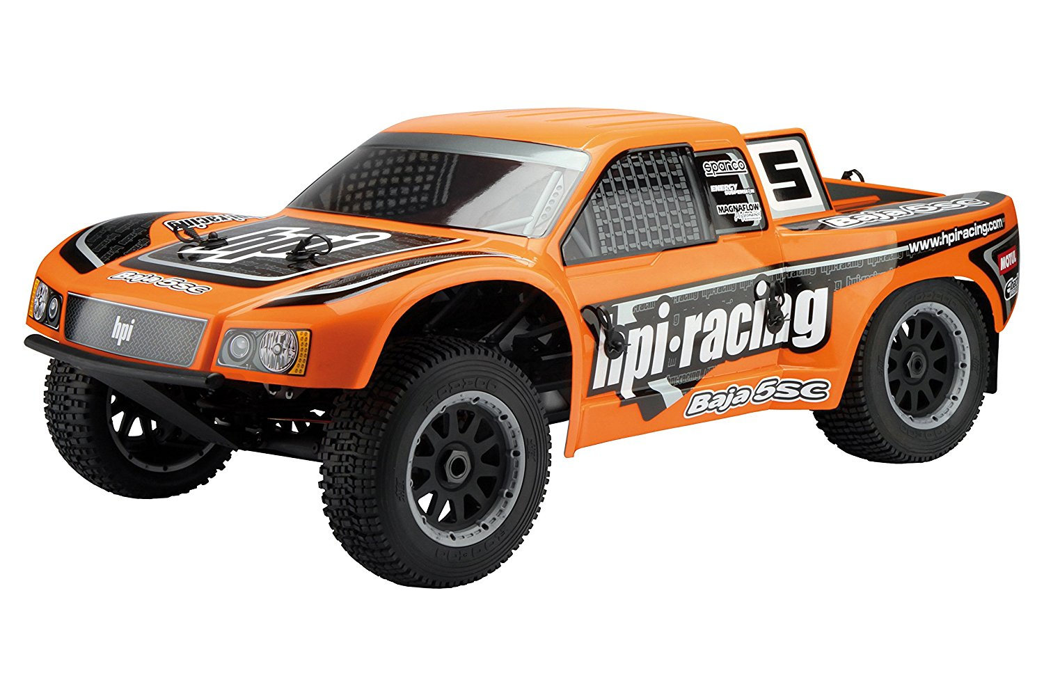 HPI Racing 104865 Baja 5SC-1 Truck Clear Body (Trimmed)