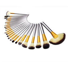 32 in one Wooden Soft Makeup Brush Sets Foundation Brushes Cream Contour Powder green handle Blush makeup kits cosmetics makeups