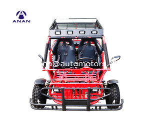 Gas buggy electric dune two seat go kart