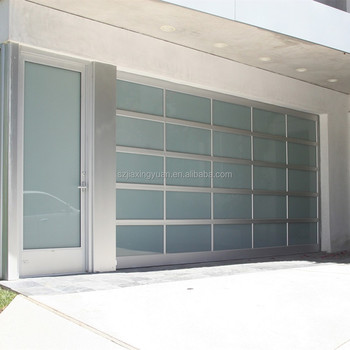 Exceptional Frosted Glass / Clear Glass / Plexiglass Automatic Folding Garage Door