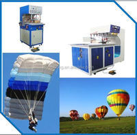 parachute, paraglider and hot air baloon welding machine