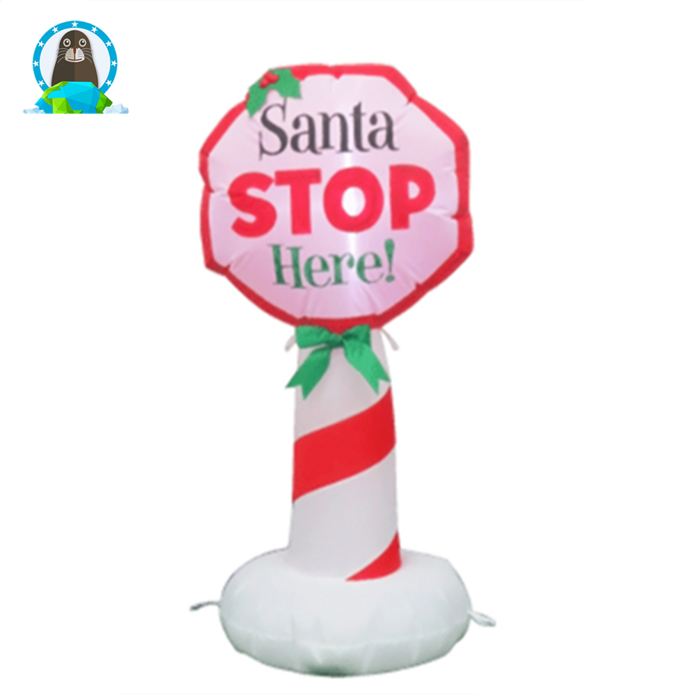 New Christmas festive stores Christmas decorations cartoon lights <strong>inflatable</strong> model