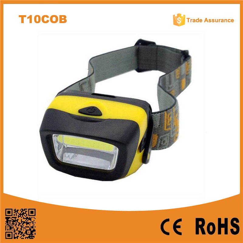 T11 AAA operated 3W cob led Best Camping Light With cheapest price COB Led Headlamp