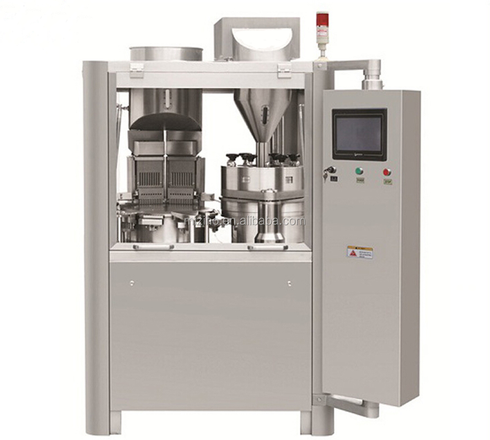 Automatic capsule filling and packing machine