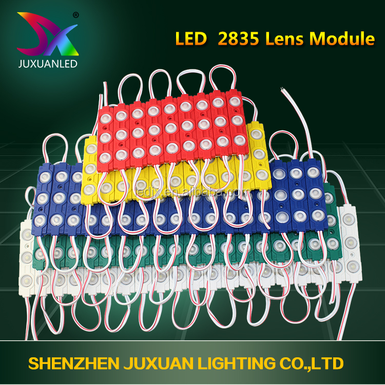 Customized high lumens smd 3528 led display module with lens 3 years warranty