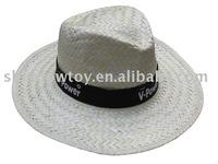 Promotion palm leaf straw hat, Panama straw hat