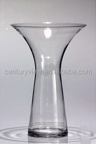 Tall Clear Wine Shaped Glass Vase For Wedding Centerpiece Buy Wine Glass Vase Wine Shaped