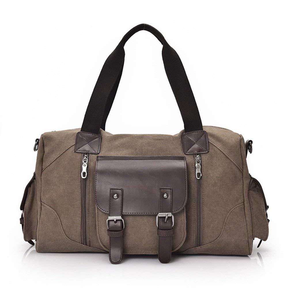 Crystalzhong Canvas Traveling Bag, Handbag, Shoulder Bag, Men's Luggage.