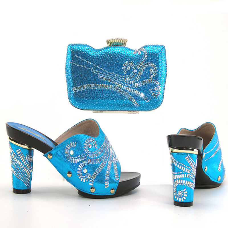 set and style African shoes blue shoes baby in bag party bag and BwWWvPqXEg