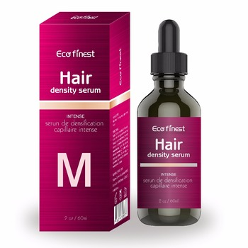 Private Label Hair Growth Serum Natural by Eco Finest ,60 ml increasing hair density 13% over 4 months - 585308