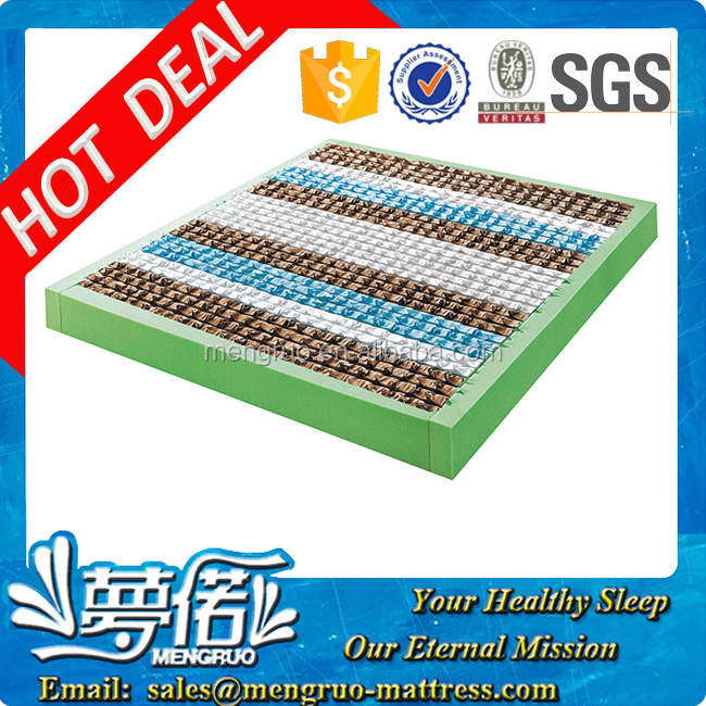 high resilience bed mattress coils pocket spring frame