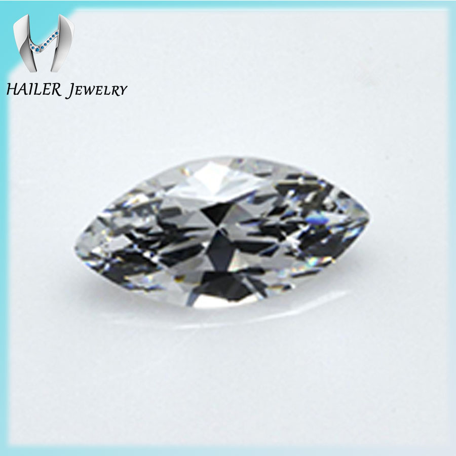 4x2mm marquise cut wholesale wax casting cz cubic zirconia