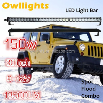 30inch 150w 4x4 led light bar 30 inch led light var off road 30inch 150w 4x4 led light bar 30 inch led light var off road auto aloadofball Image collections