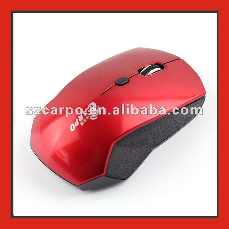 2012 hotsale receiver driver wireless usb pc mouse V200