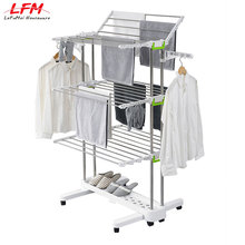 Multi-layers magic hotel clothes rack