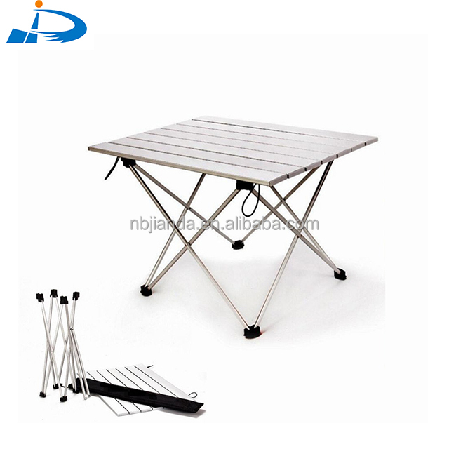 Folding aluminium picnic table source quality folding aluminium portable folding aluminum picnic table for camping fishing and bbq watchthetrailerfo