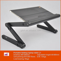 Business Opportunity Wholesale White Furniture Portable Metal Tray for Laptop in Bed with Mouse Pad