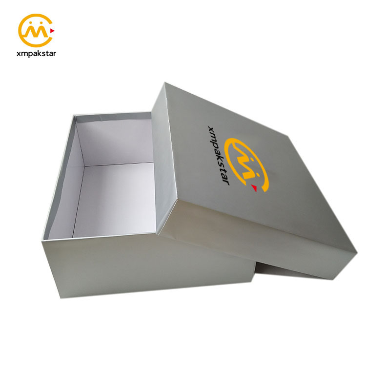Factory directly custom logo printed cardboard paper shoe packaging box
