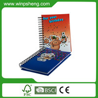 Custom Pages A5 Classic Thick Musical Notebook