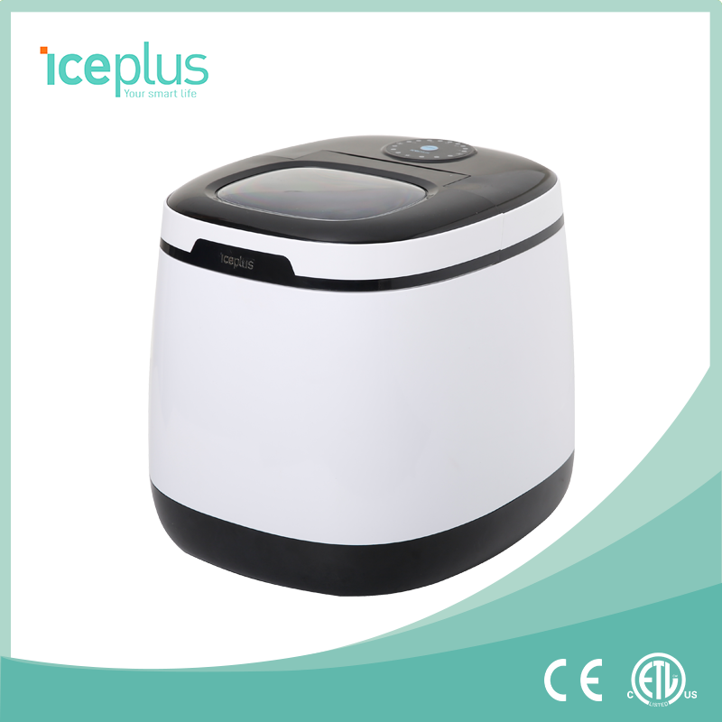 Portable Countertop Ice Maker with Ice Scoop, iceplus brand home use ice maker