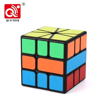 Beginner twist 5.6cm stickerless speed cube promotional from qiyi
