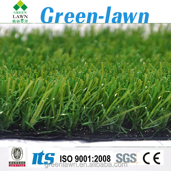 2017 China artificial landscape grass home yard garden install green colour