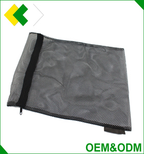 High quality polyester mesh zipper bag wholesale mesh laundry bag mesh fabric for laundry bag