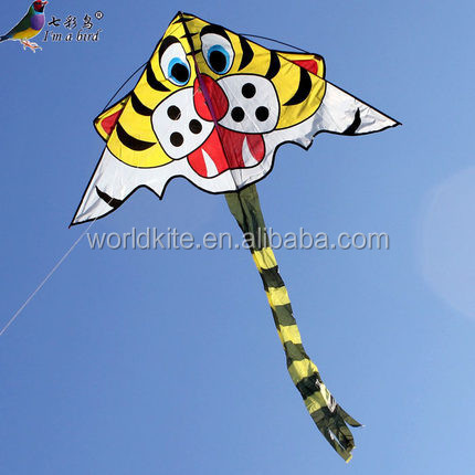 Vivid tiger cheap kids kite small