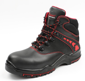 Jian huaerxin factory oil and gas industry breathing s3 safety shoes