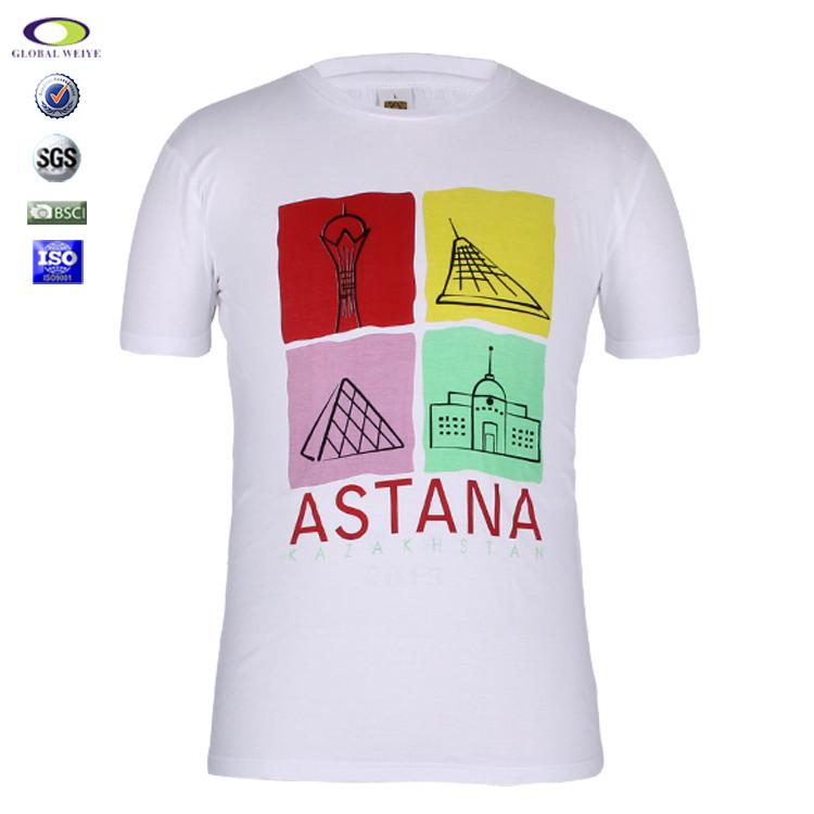9bedf20e Custom White Fashion Printed Hemp T Shirts Wholesale Man - Buy ...