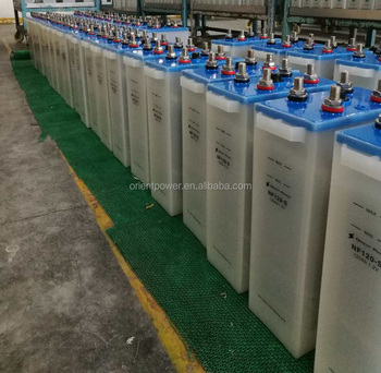 80Ah 11000 cycle Rechargeable nickel iron battery 1.2v Ni-fe battery for solar application