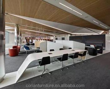 Corian Solid Surface Designer Office Desk