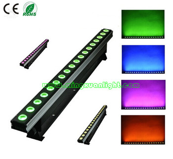 18*12w RGBWAUV 5in1 ip68 led wall washer