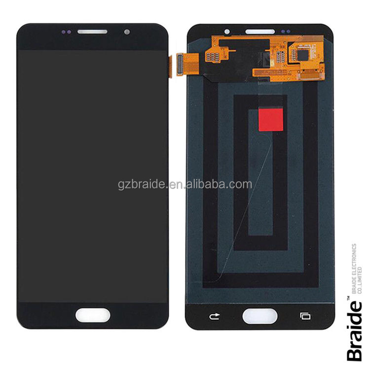 Factory Price phone spare parts lcd for Samsung A710 A7 2016 lcd screen