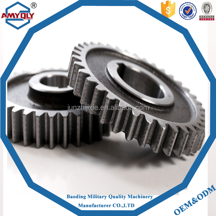 Bevel Gear For Pump Apply To Hitachi Ex200-3-5 Excavator One Pair For Sale