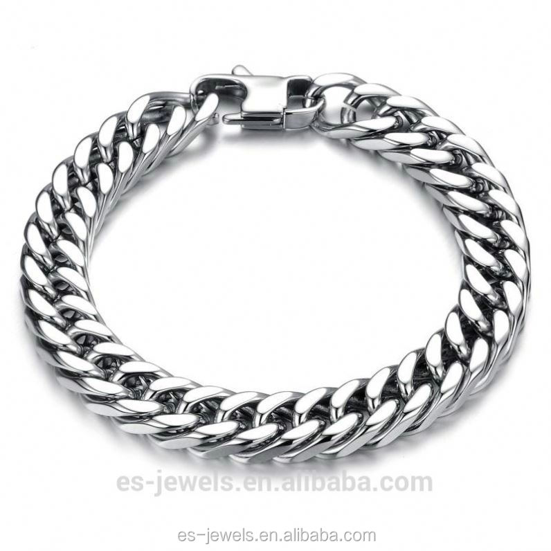 Fashion dubai new link bracelet chain design jewelry bracelet for men