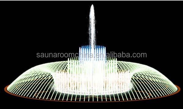 Led licht 220v 380v waterpomp decoratieve outdoor water vijver meer