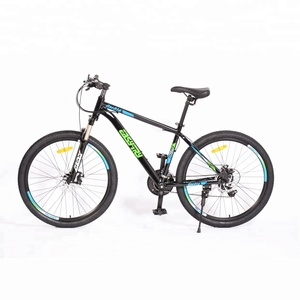 Fork suspension steel frame bicycle mtb 29 mountain bike