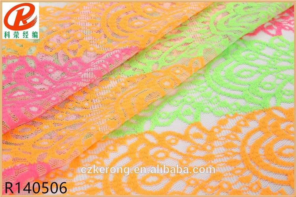 CE RoHS Green Cord Lace Fabric For Paper Finishing Agent
