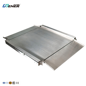 good quality factory price 1500KG extra low floor scale