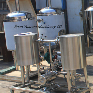 SS304/316 materials 100L beer brewing equipment sanitary beer fermenter