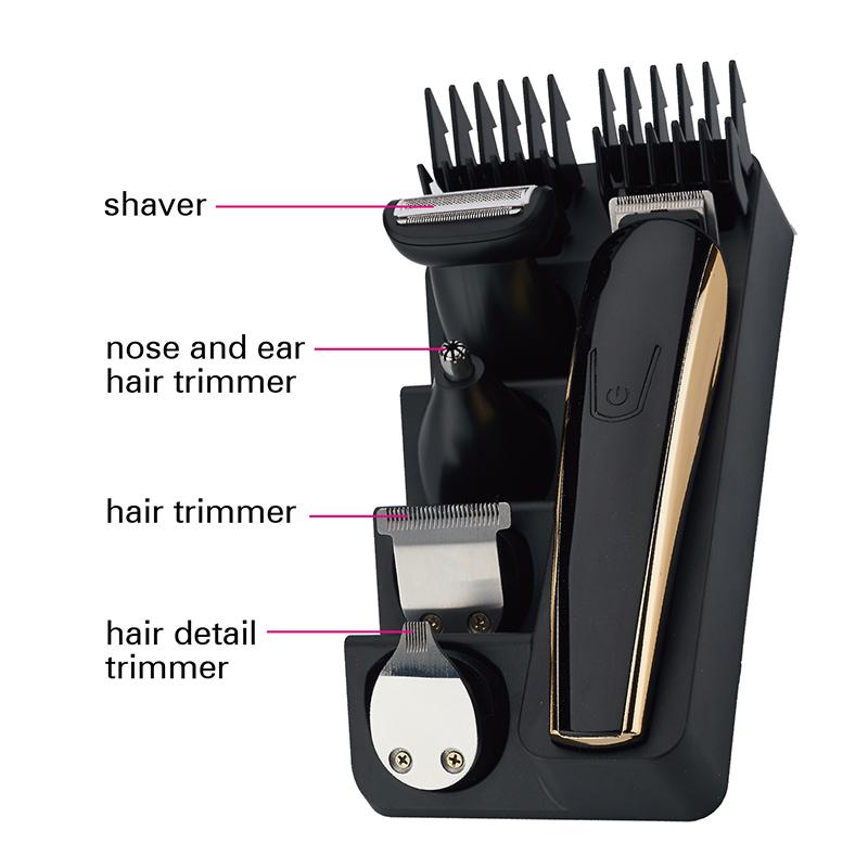 Akku-Haarschneider Bartschneider wiederaufladbarer Haarschneider