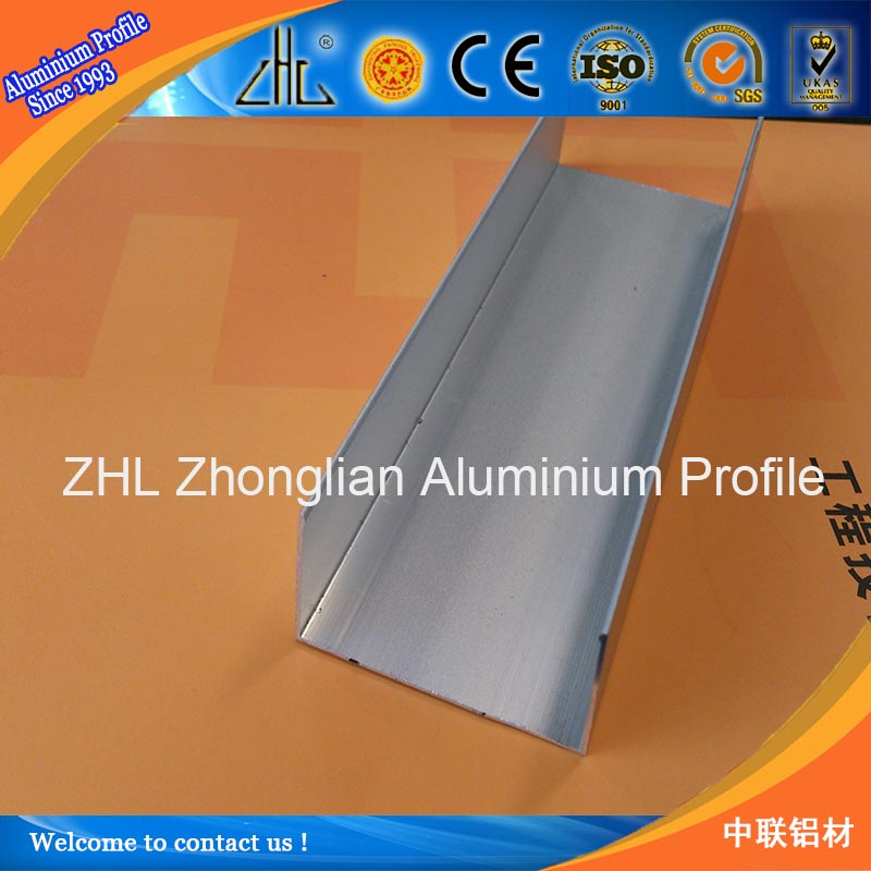 Great! Aluminum U Channel Railing/glass Railing U Profile /anodized  Aluminum Washers Aluminum Channel Sizes - Buy Aluminum Channel  Sizes,Aluminum U