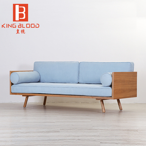 Nordic european style pictures of wooden sofa set designs for drawing room