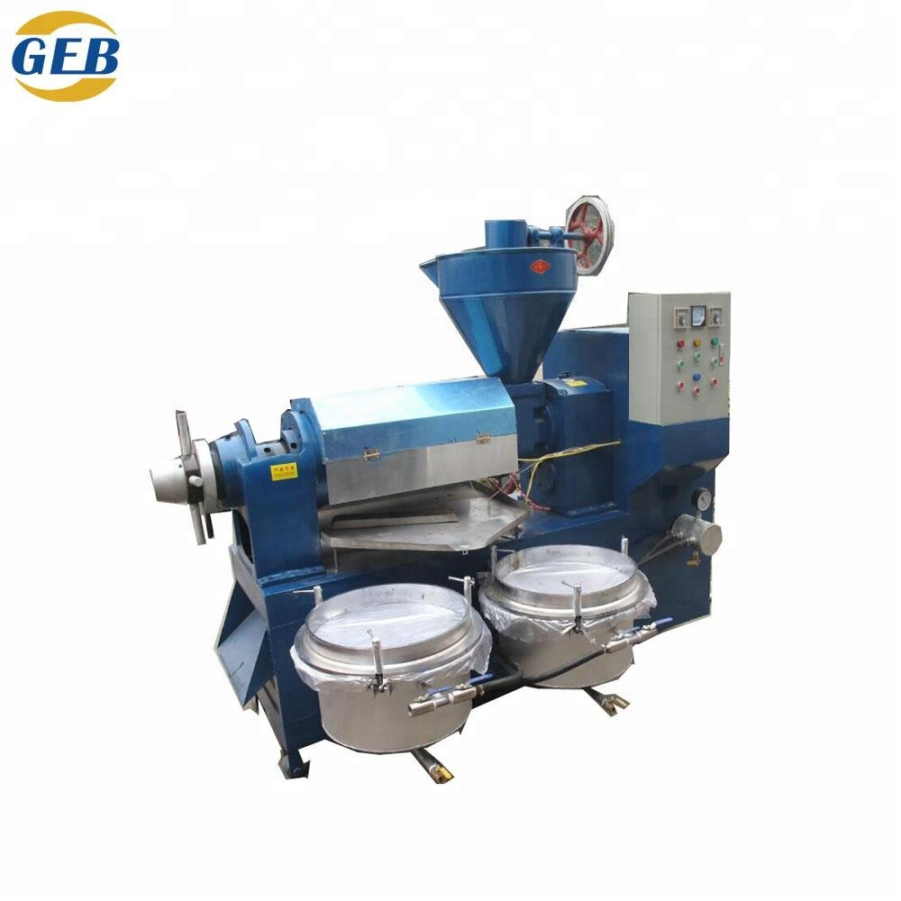 Automatic mastered ground nut cottonseed corn germ rice bran pumpkin seed oil press machine