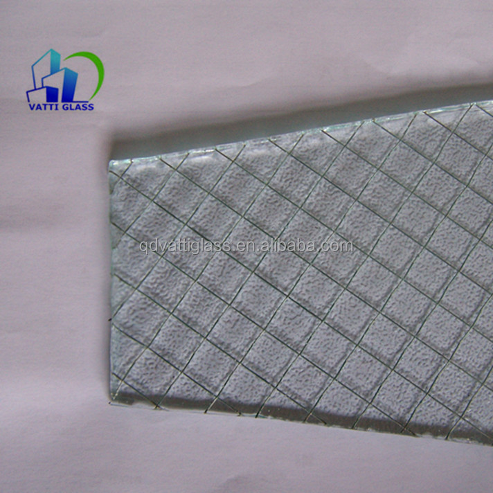 High Quality Safety Wired Glass Prices Clear Wired Glass - Buy ...