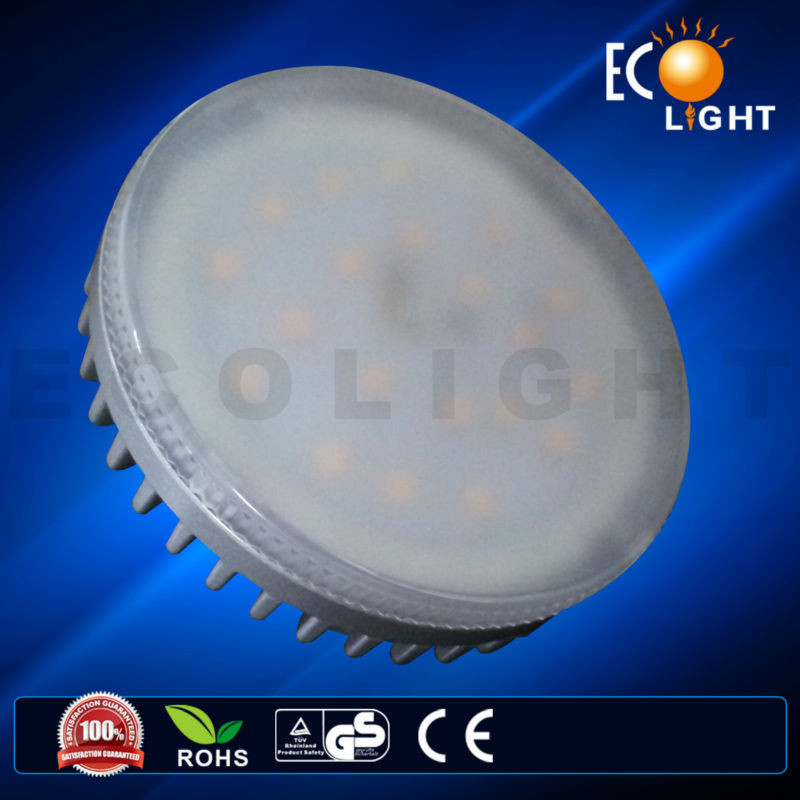 Hot Product CE Approved Circuit Design 7W Hangzhou GX53 Round Energy Saving Lamps