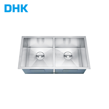 Free Standing Commercial Kitchen Sink/stainless Steel Freestanding Kitchen  Sink/stainless Steel Double Sink - Buy Stainless Steel Double ...